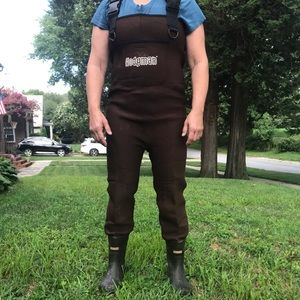 Hodgeman waders with Boots